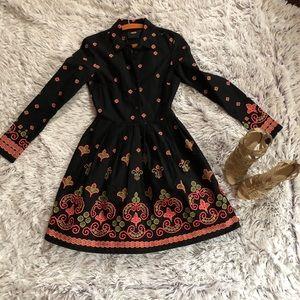 ASOS Beautiful Embroidered Shirt Dress